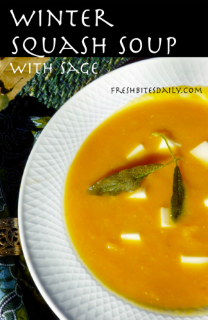 Your new go-to winter squash soup...