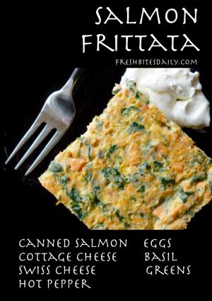Salmon Frittata from FreshBitesDaily.com