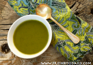 Green Soup: A Nutritional Powerhouse from FreshBitesDaily.com