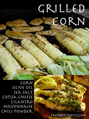 Mexican grilled corn with a 5-star end result