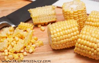 Freezing Corn at FreshBitesDaily.com