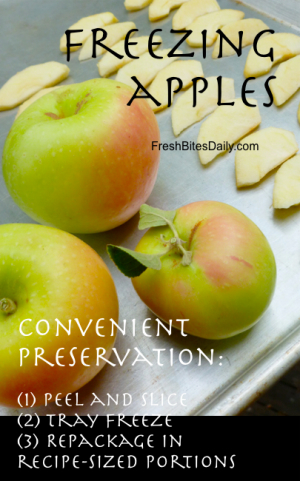 Freezing apples! Which to freeze? Do you add lemon? Inquiring minds....