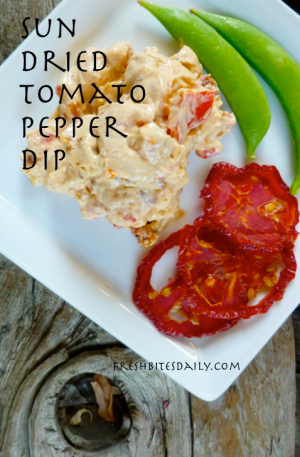 This tomato dip is so quick to make you'll wonder why you don't keep it around all the time