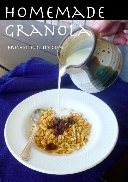 A simple and tasty homemade granola