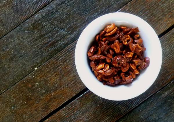 Sweet & Savory Spiced Cashews