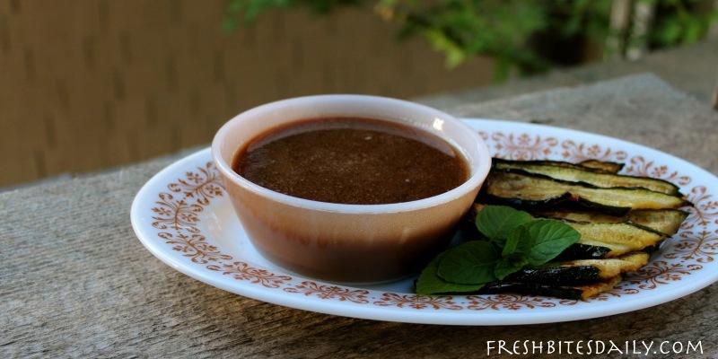 A miso peanut sauce. Use as a dip, use as a dressing