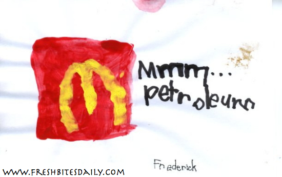 Pollan Painting #4: The Golden Arches from FreshBitesDaily.com