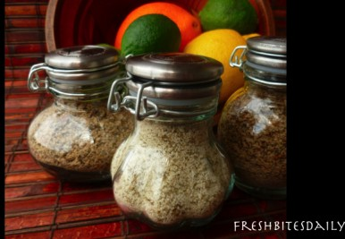 These simple citrus salts may make you very popular among your friends…