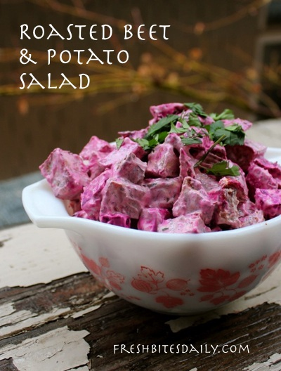 The perfect combination of classic flavors in this beet salad