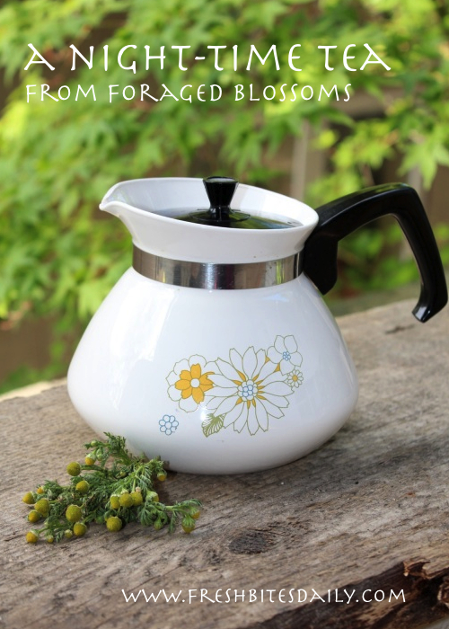 Chamomile tea hike plus a great night-time tea