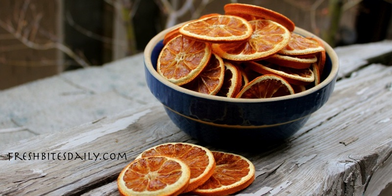 Dried orange slices — More than just decorations or additions to your potpourri