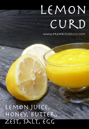 Lemon Curd at FreshBitesDaily.com