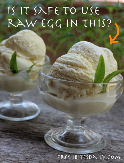 Raw Egg Safety: Yes or No on Raw Eggs in Homemade Ice Cream?