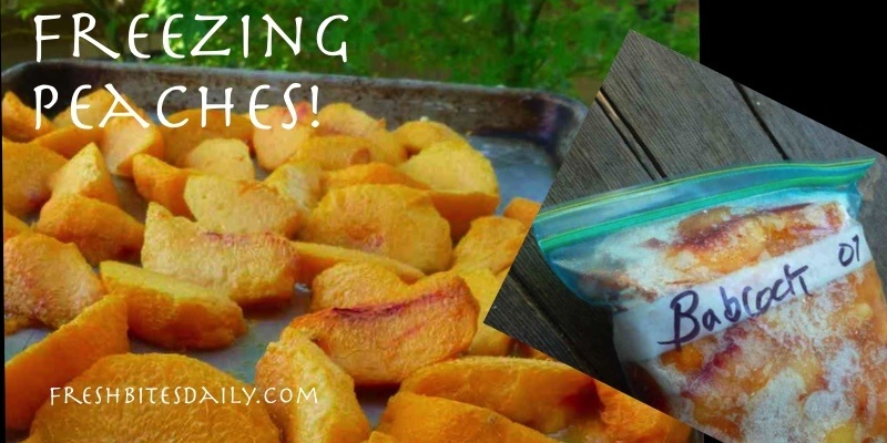 Freezing Peaches: Two Freezing Methods for Different Needs