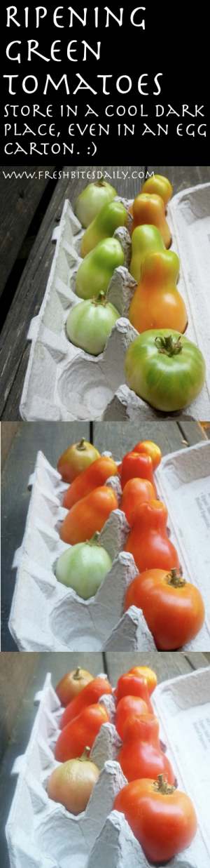 A super simple strategy for ripening your tomatoes