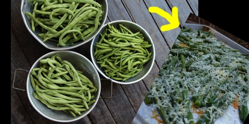 How to make perfectly roasted green beans