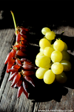 Cotton Candy Grapes and Witch Fingers at FreshBitesDaily.com