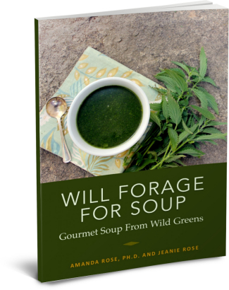 Will Forage For Soup: Gourmet Soup From Foraged Greens