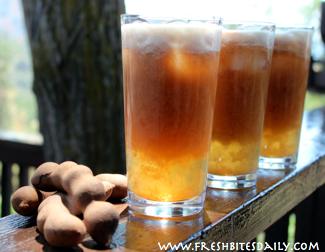 Agua de Tamarindo at FreshBitesDaily.com