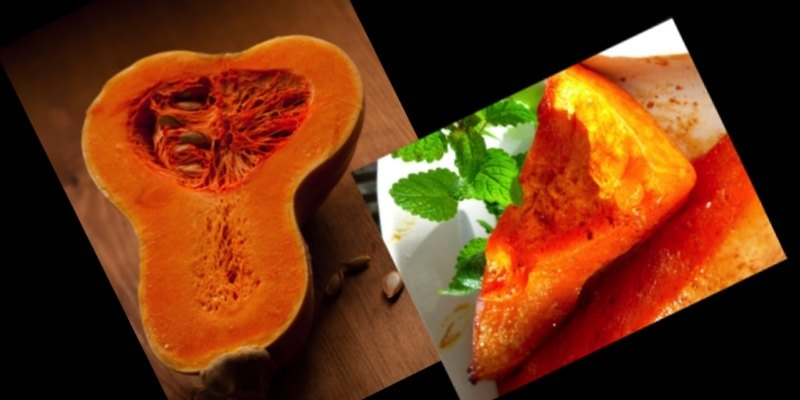 Roasted butternut squash, maple-roasted for a Heavenly experience