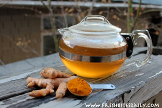 "Start your day with this ""Turmeric Tea,"" while fighting cancer and building your brain at the same time (including key flavor options and ""pro tip"")"