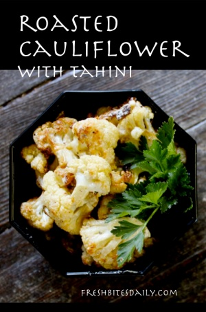 A new way to enjoy roasted cauliflower
