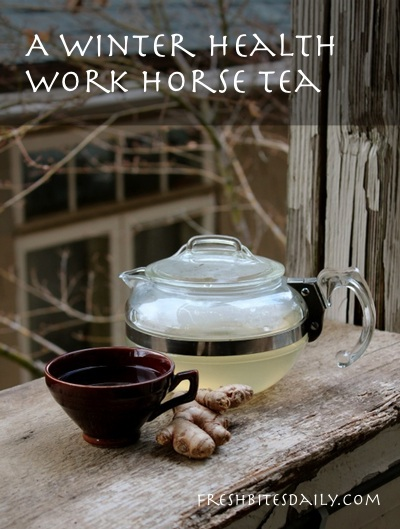 A wintertime work horse tea to support your health with a bonus pro tip on efficiency