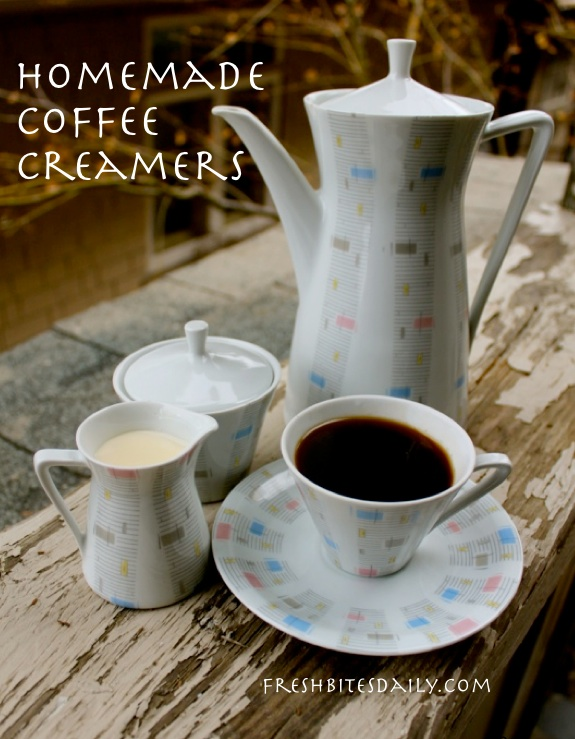 Get the flavor of those little creamers without the chemicals...