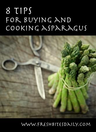 8 tips on handling fresh asparagus
