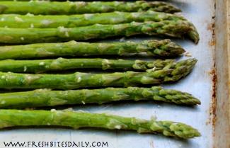Simple roasted asparagus for your springtime bounty