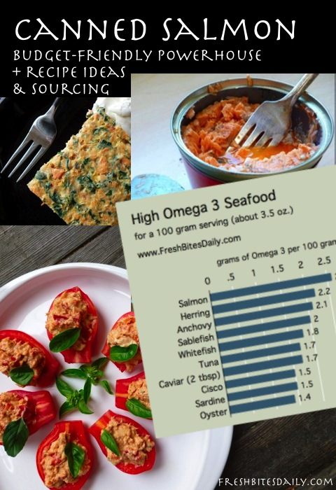 Canned salmon: A budget-friendly Omega 3 powerhouse (with a dozen recipe ideas for you)