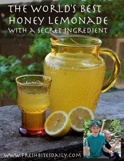 "The world's best homemade lemonade with a secret ingredient, in the big reveal from the ""Half Pint Hacks"""
