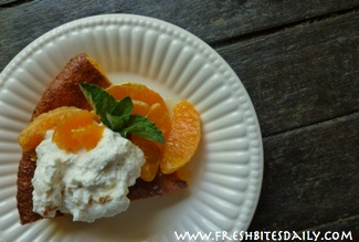 "Far better than ""Cool Whip"" -- A honey-orange flavored whipped cream"