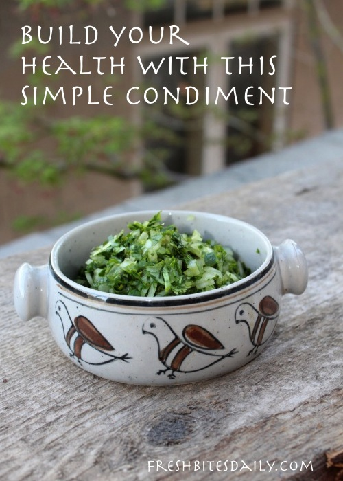Build your health with this simple condiment