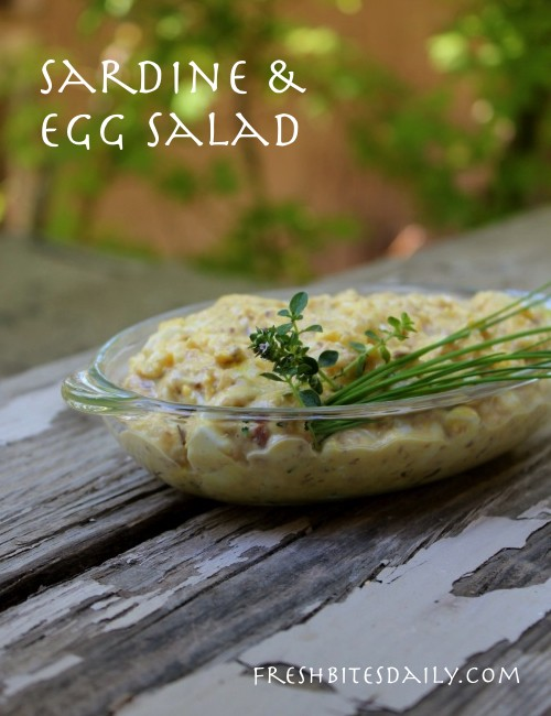 A versatile egg salad with an Omega 3 powerhouse surprise