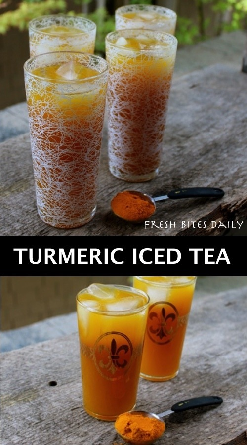 Iced Golden Tea: Build Your Brain and Heart With Our New Refreshing Beverage