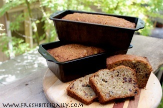 A gluten-free lightweight zucchini bread that is almost cake-like