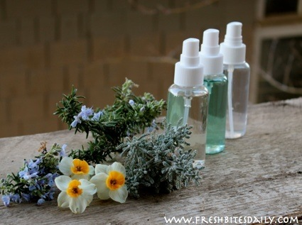 Make your own air freshener from your favorite fragrant plant