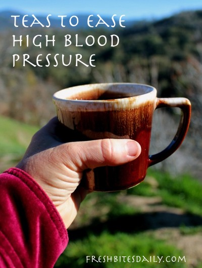 Five teas to improve your blood pressure (that actually taste good) and forest fire pictures as a bonus...