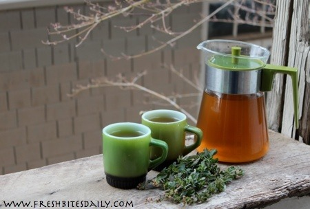 Yes, this herb for savory dishes makes a killer antioxidant tea