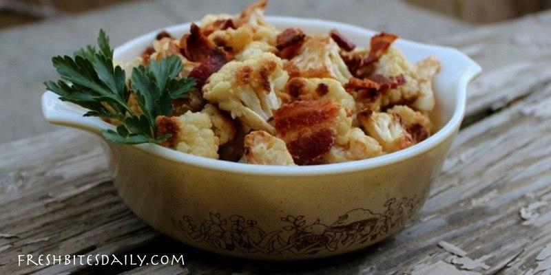 A simple way to enjoy roasted cauliflower