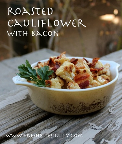 A simple way to enjoy roasted cauliflower