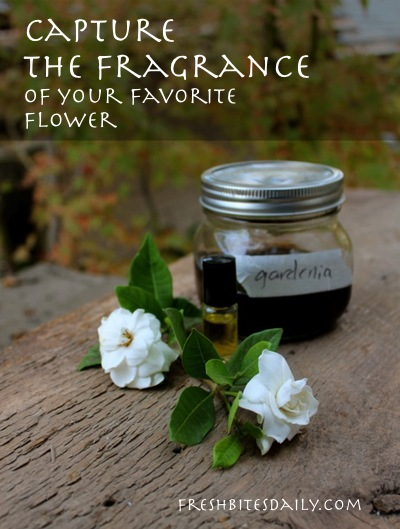 Capture the fragrance of your favorite flower and keep it in your pocket