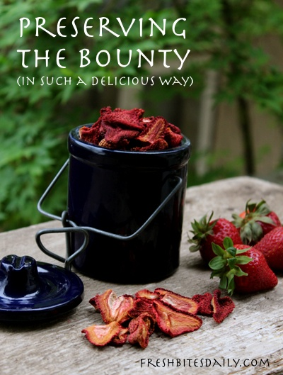 Preserve the strawberry bounty in this exceptionally delicious way