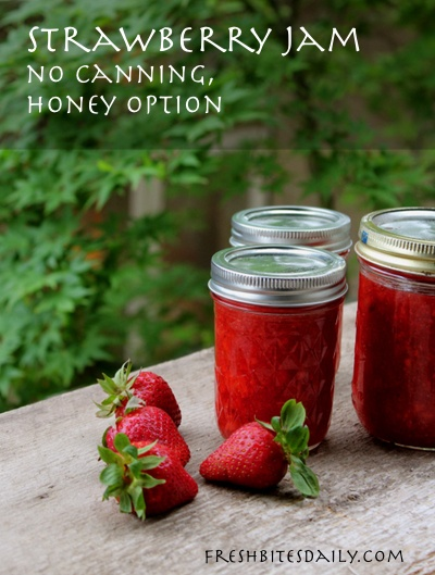 A quick no-canning solution for strawberry jam