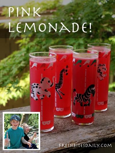 "Pink lemonade (plus an important discussion on ""brown lemonade"")"