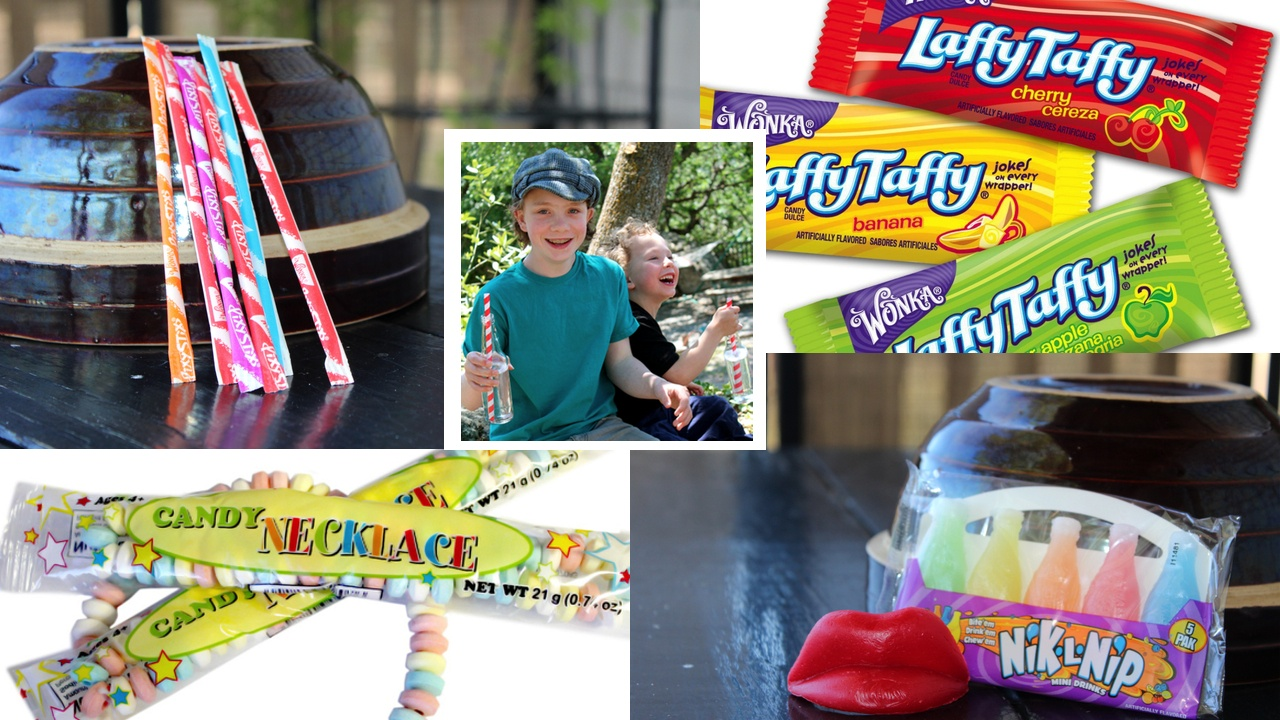 Mystery Food Tasting from the Half Pint Hacks: The Vintage Candy Series