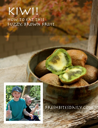 Kiwi: What to do with this fuzzy, brown fruit