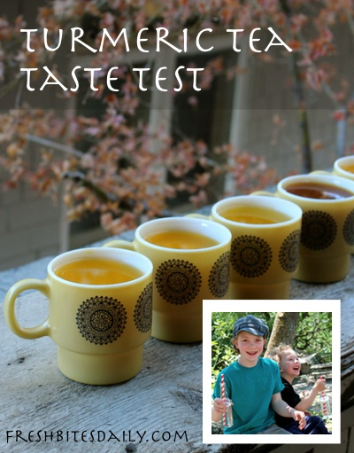 Turmeric tea in many new flavor combinations