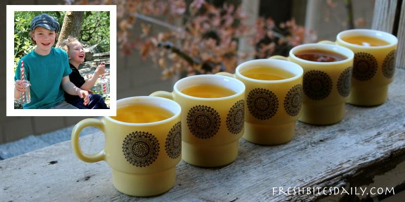 Turmeric tea in many new flavor combinations